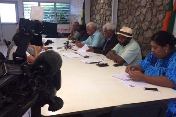 Conférence de presse du FLNKS, 18 septembre 2018