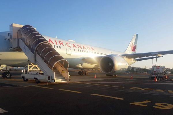 Vol d'Air Canada dérouté à Tontouta, novembre 2019