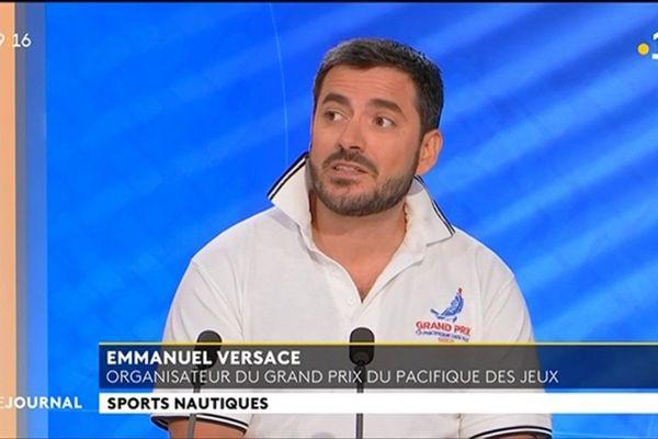 Invité du JT : Emmanuel Versace, organisateur du Grand Prix du Pacifique de Voile