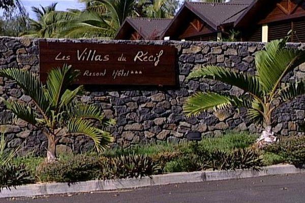 """Braquage à l'hôtel """"Les Villas du Récif"""""""