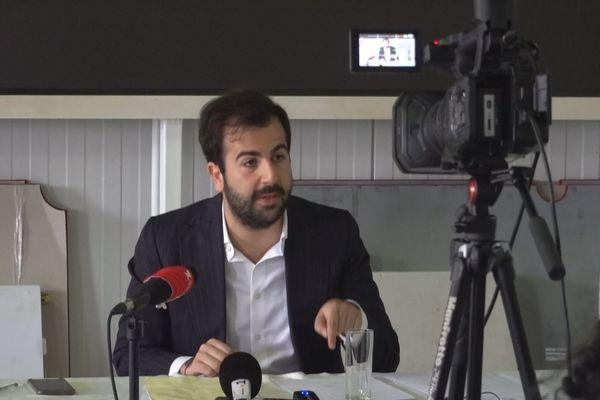 Conférence de presse, avocat Bédier
