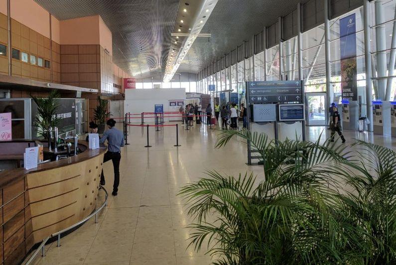 L'aéroport de Cayenne paralysé par une grève des agents de sécurité, le vol vers les Antilles est retardé