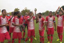 L'équipe du Golden Lion de Saint-Joseph.