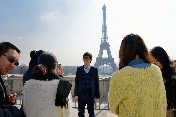 Accueil des touristes chinois à Paris