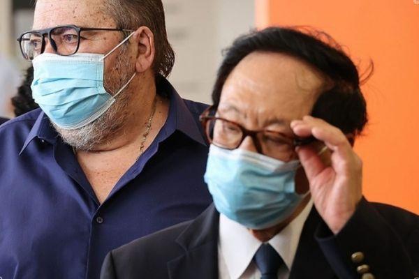 Michel Fontaine et André Thien Ah koon
