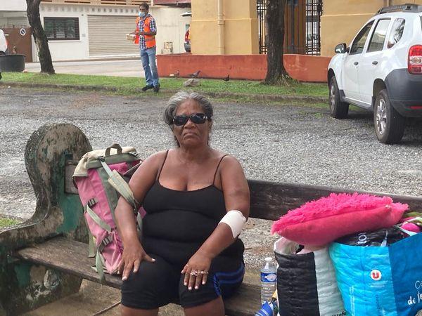 Des sans abris nombreux à Cayenne