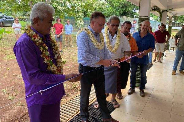 Inauguration du nouveau bureau service agriculture