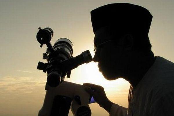 Observation de la lune fin du Ramadan