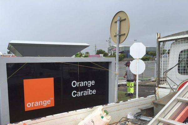 Mouvement des prestataires d'Orange