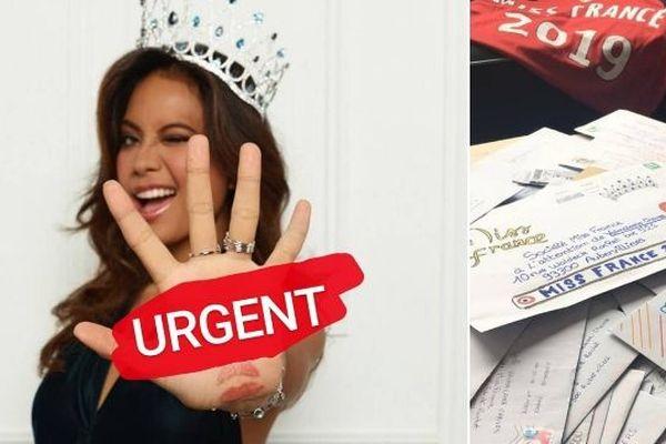 Vous voulez écrire à Miss France ?