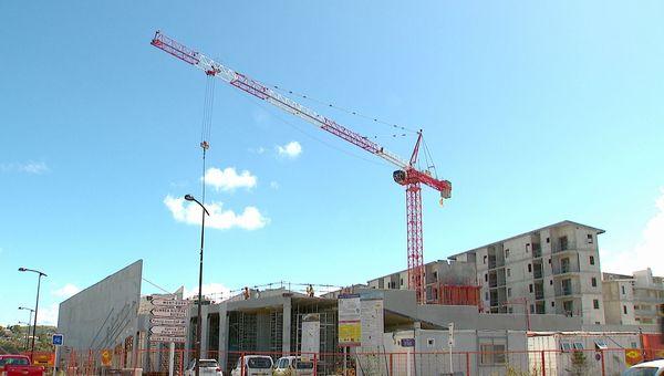 Coronavirus, chantier de BTP, bâtiment