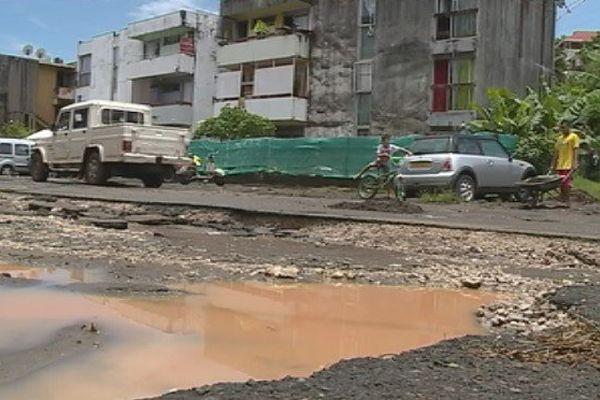 routes dégâts intempéries