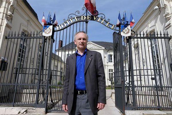 Le maire FN de Villers-Cotterêts, Franck Briffaut