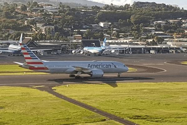 un Boeing 787 d'American Airlines se pose en urgence à Thaiti