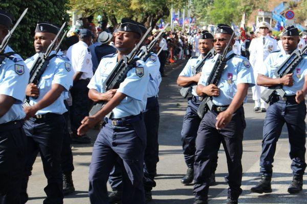 Défilé militaire du 14 juillet 2015 à Mayotte