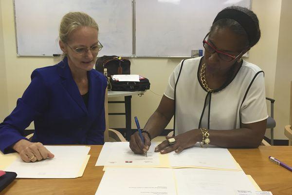 Signature Convention CArest Antigua & Barbuda