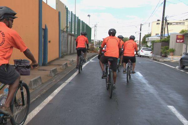 Médiateurs à bicyclette