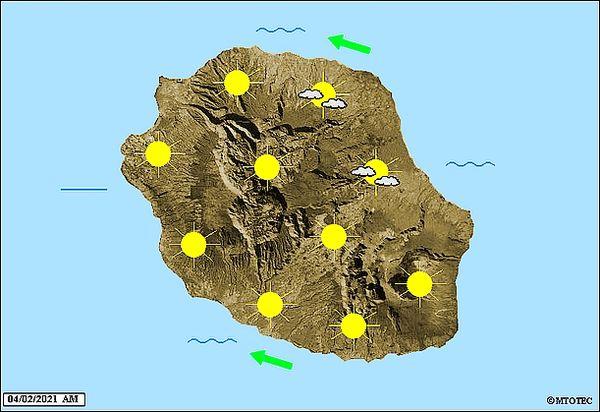 Carte météo 4 février 2021