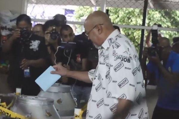 Desi Bouterse président sortant Suriname