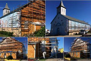 L'église de Miquelon