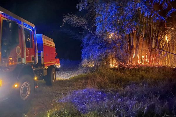 Pompiers Bourail