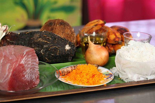 Du soleil dans nos assiettes - ingrédients recette thon mariné au curcuma