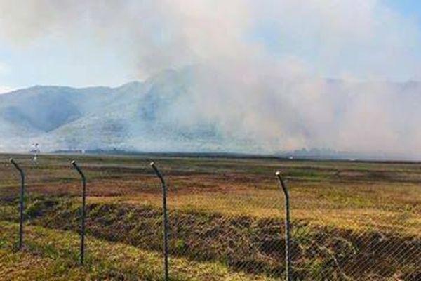L'incendie du 2 novembre 2018 à Koné.