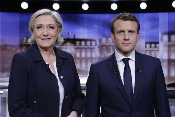 Macron - Le Pen - élection présidentielle - débat