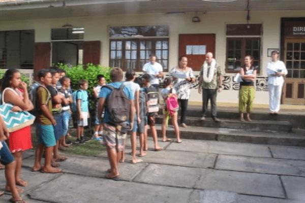 Nuku Hiva : le collège et Cetad accueille 270 élèves depuis ce matin