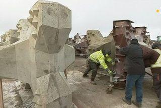 CONSTRUCTION BLOC ACCROPODE