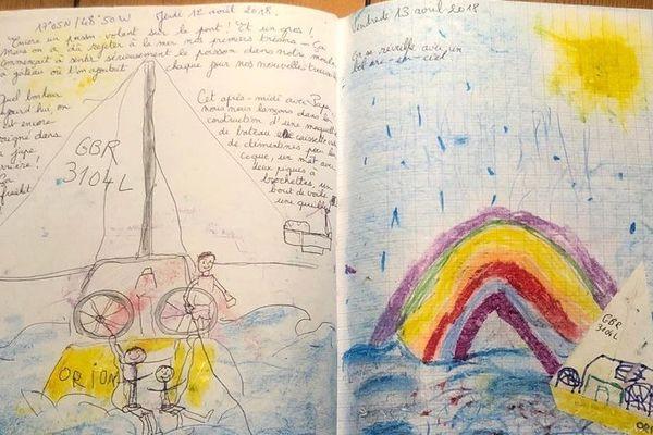 Journal de bord de Paul et William