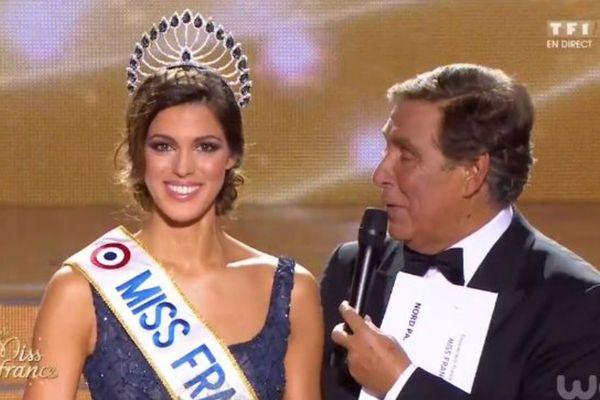 Iris Mittenaere, Miss Nord-Pas-De-Calais, élue Miss France 2016