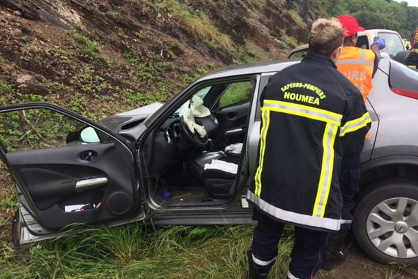 Photo accident VDE trois véhicules (12 mai 2017)