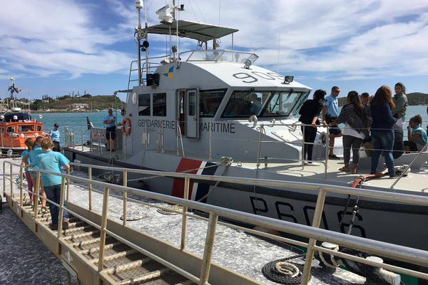 brigade maritime et la navette SNSM