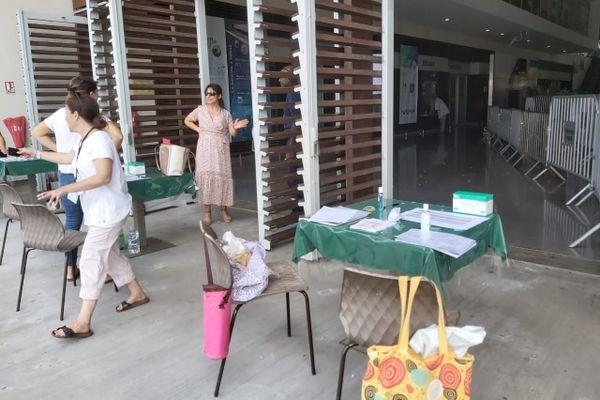 Contrôle sanitaire aéroport de Mayotte