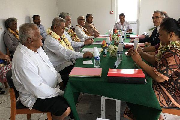 Réunion du Conseil du Territoire à Havelu
