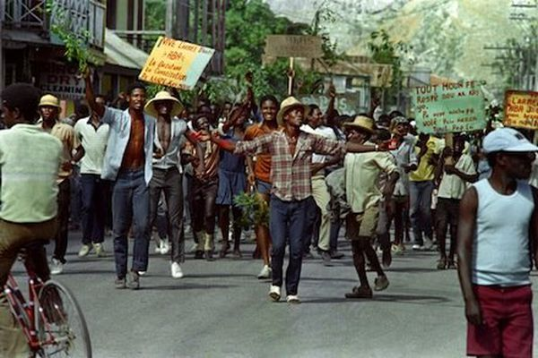 Manif 1986 anti Duvalier