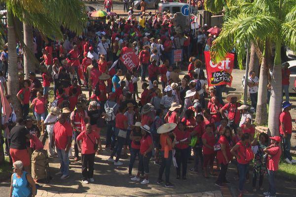 Manifestation en Martinique