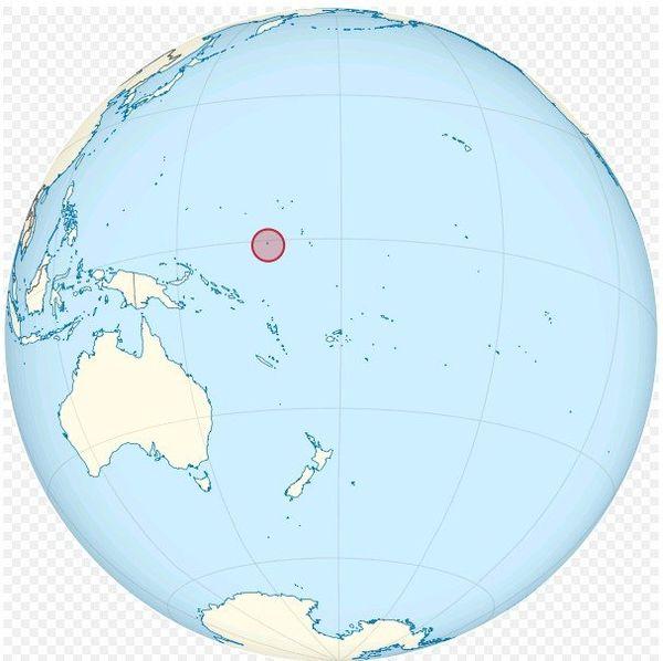 Nauru globe
