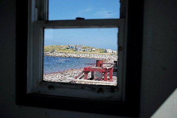 Destination touristique, l'Ile aux Marins était autrefois habitée