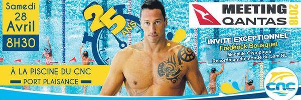 Affiche 25e meeting Qantas