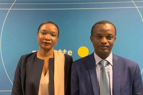 Daoud  Saindou Malide est candidat aux côtés d'Echati Issa dans le canton de Koungou.