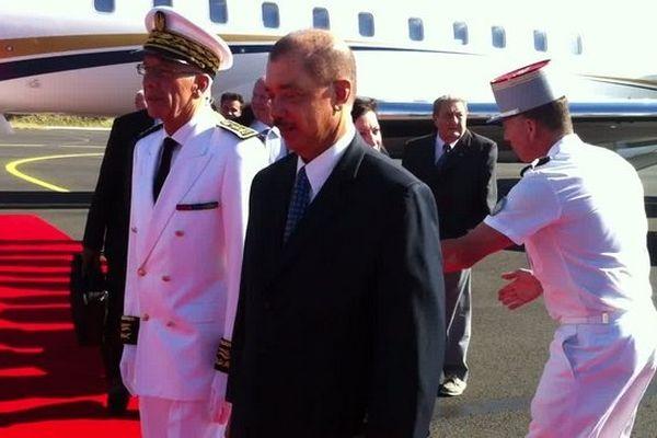 James Michel, le président de la République des Seychelles en visite à La Réunion
