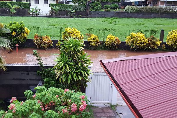 Inondations à Raiatea