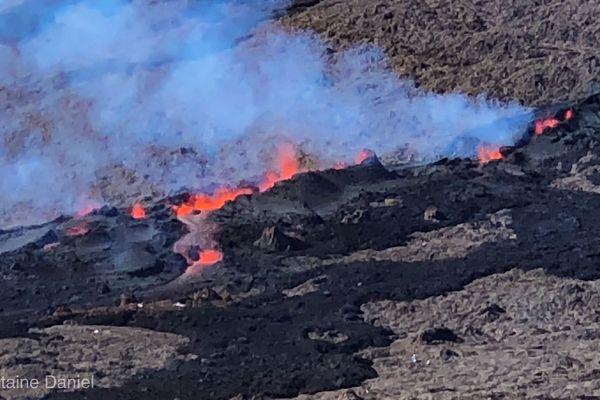 Volcan le 13 juillet 2018