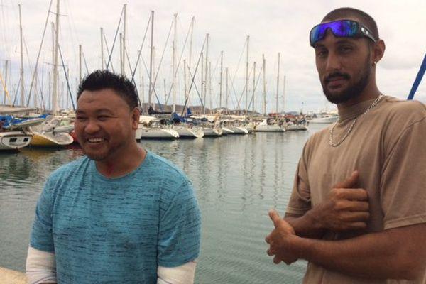 Les deux plongeurs rescapés