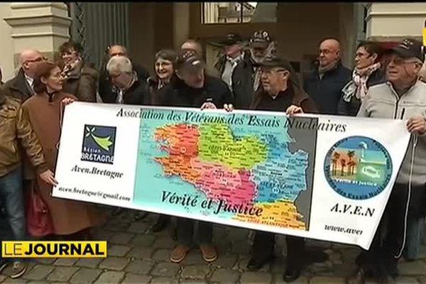 Nucléaire : 17 vétérans ont bon espoir d'être indemnisés