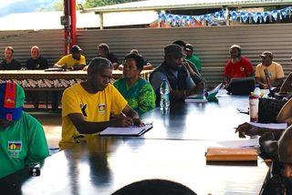 Assemblée générale du Palika à Gamaï, Kaala-Gomen, 28 juillet 2018