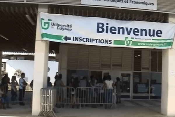 Inscriptions 2016-2017 à l'Université de Guyane