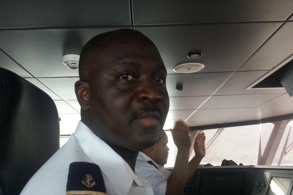 Le commandant de bord